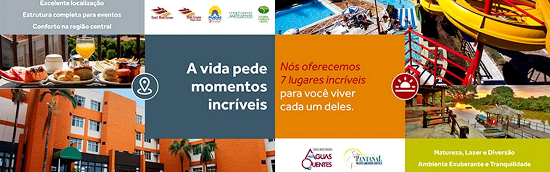 Rede de Hotéis Mato Grosso